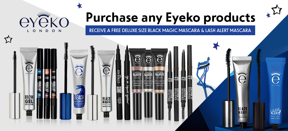 Free deluxe size Black Magic Mascara & Lash Alert Mascara