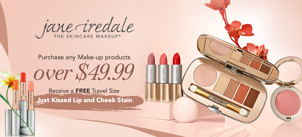 Free Travel Size  Jane Iredale Just Kissed Lip and Cheek Stain
