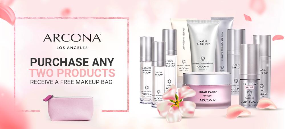 Free Makeup Bag